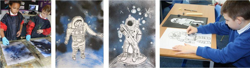 Art Projects at Junior School Vlaskamp