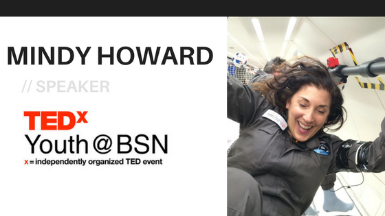 An Astronaut's Voyage to Inner Space   Mindy Howard   TEDxYouth@BSN Speaker