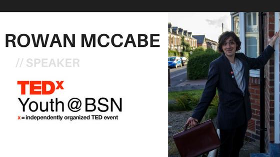 Opening Your Doors | Rowan McCabe | TEDxYouth@BSN Speaker