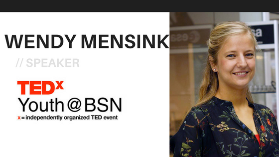 My Unexpected Journey to Space | Wendy Mensink | TEDxYouth@BSN Speaker