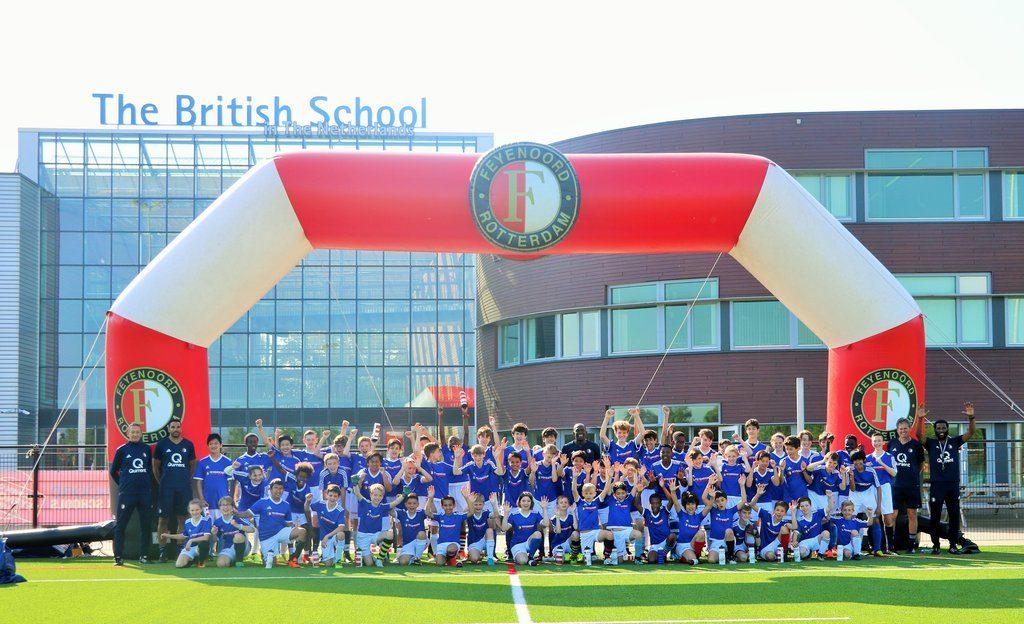 BSN Students Learn to Play the Feyenoord Way