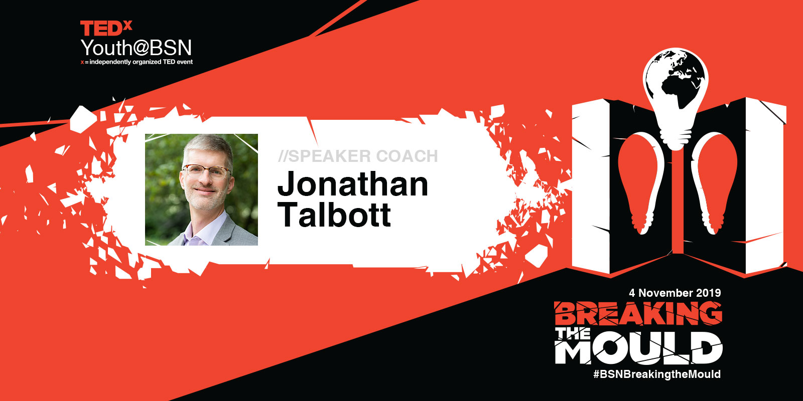 200 Talks and Counting: Jonathan Talbott Joins TEDxYouth@BSN as Speaker Coach (again!)
