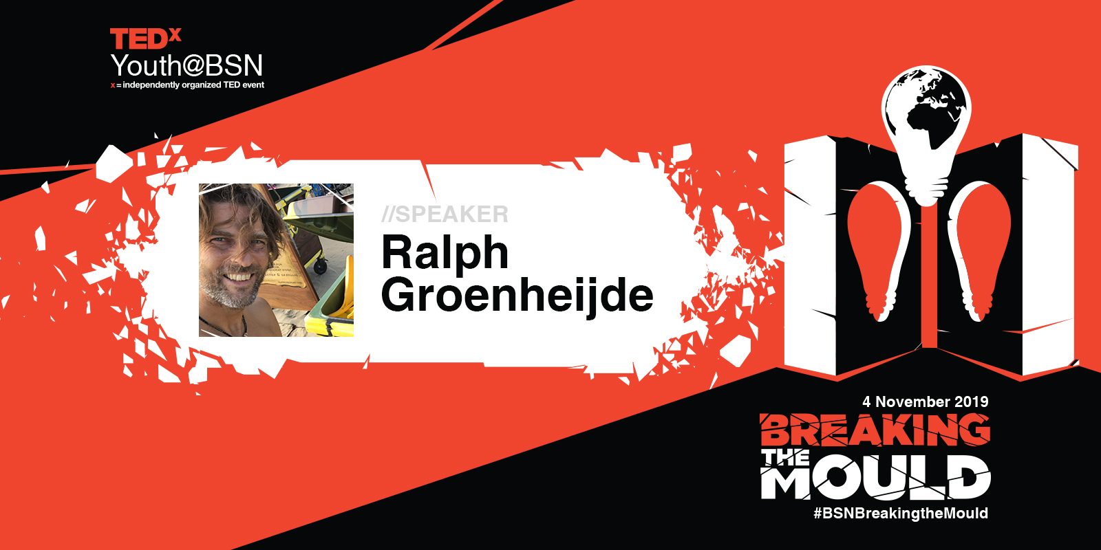 Cleaning up the beach and fun go hand in hand | Ralph Groenheijde | TEDxYouth@BSN Speaker