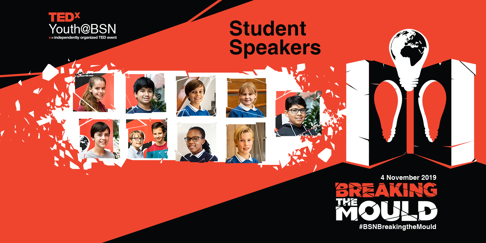 2019 Student Speakers | TEDxYouth@BSN