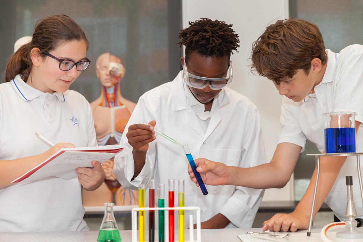 international school students learning future skills