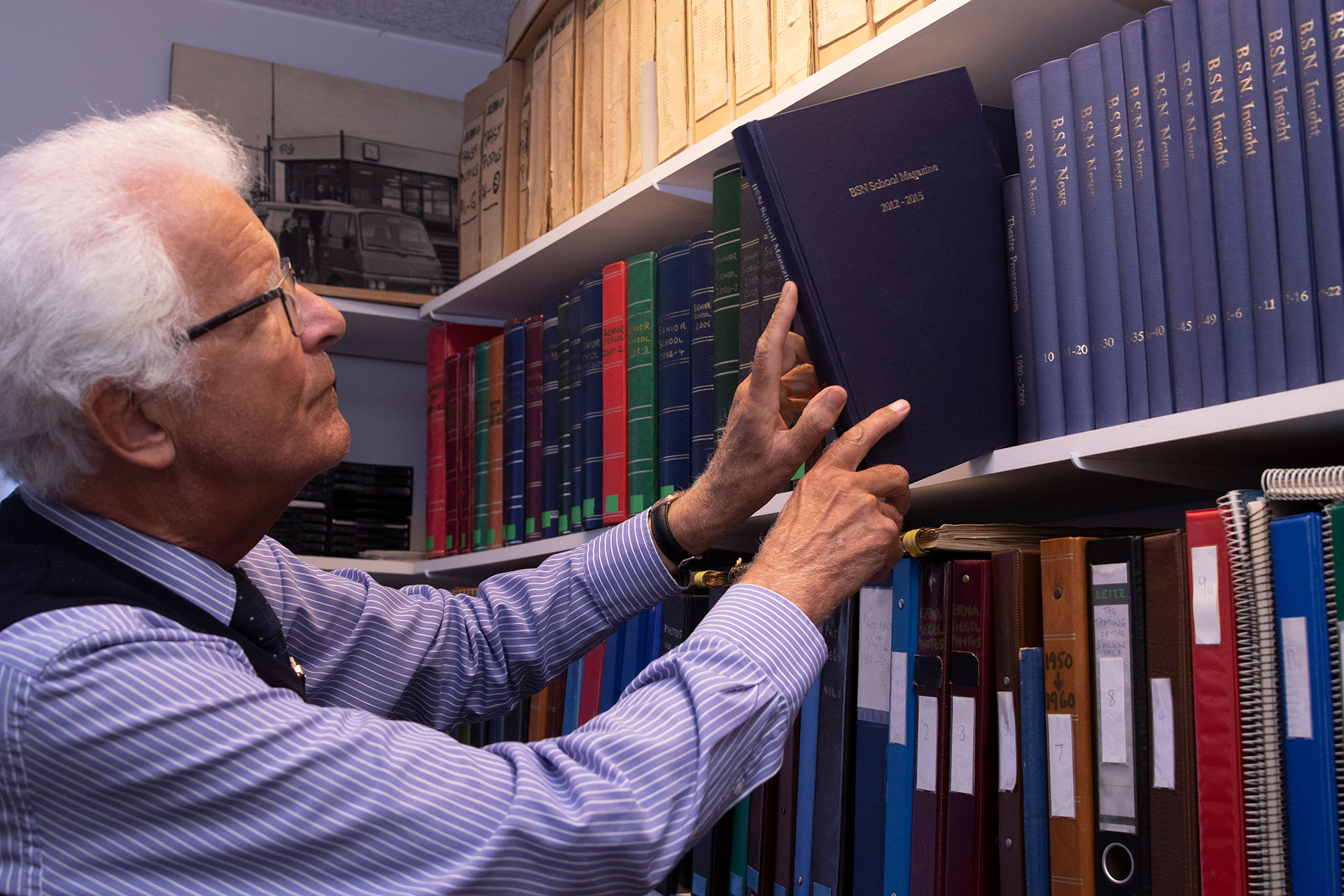 Mike Weston at SSV Archives - 2014